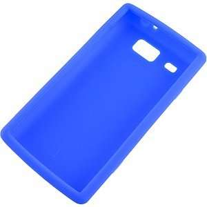 Silicone Skin Cover for Samsung Focus Flash i677, Blue Electronics