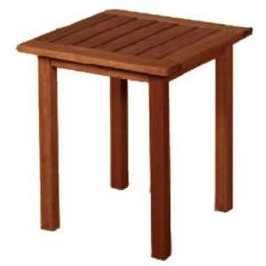 Dining and Accessory 17.75 Square End Table Furniture & Decor