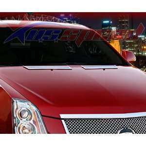 2008 UP Cadillac CTS Chrome Hood Vents 2PC Rear Automotive