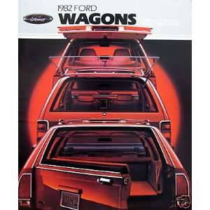1982 Ford Wagons vehicle brochure
