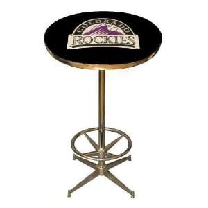 Colorado Rockies 40in Pub Table Home/Bar Game Room  Sports