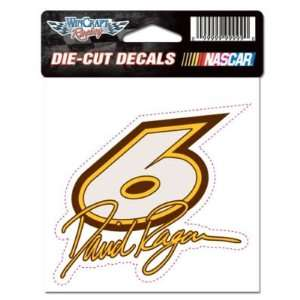 DAVID RAGAN 4X4 DIE CUT DECAL