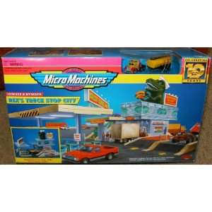 Micro Machines Rexs Truck Stop City Hiways & Byways
