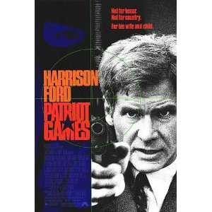Patriot Games   DVD   starring Harrison Ford Electronics
