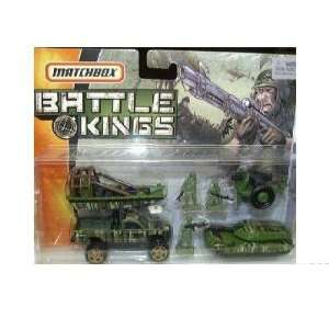 Matchbox Battle Kings Jungle Recon Military Set Toys
