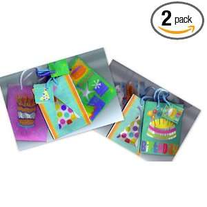 Happy Birthday Gift Bags (Assorted set of 6) Health