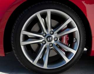 Hyundai Genesis Coupe OEM Wheel Center Caps Genuine OEM Parts