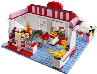 You are bidding on 1 complete set of LEGO Friends 3061 City Park Cafe