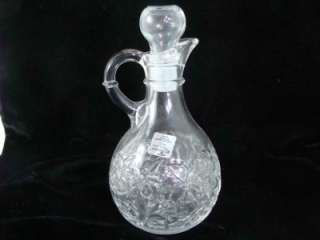 NEW PRINCESS HOUSE FANTASIA PATTERN CRYSTAL CRUET FROM #554