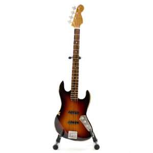 Jaco Pastorius Handcrafted Miniature Bass Guitar