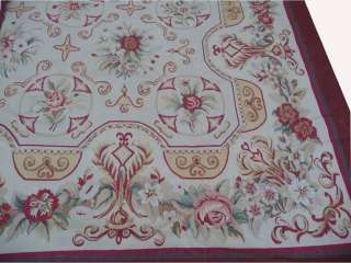 13x219 Oversize Wool French Aubusson Flat Weave Rug~Brand New~Free