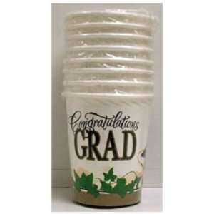 Ivy Grad 7oz Paper Cups Case Pack 8   536011 Patio, Lawn