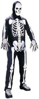 Adult Scary Skeleton Outfit Unisex Halloween Costume