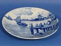 d959 Vintage Royal Delft Wall Plate Westraven MARCH