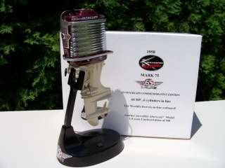 Alterscale Burgundy 1958 Mercury Mark 75 Outboard Boat Motor 1 of 500